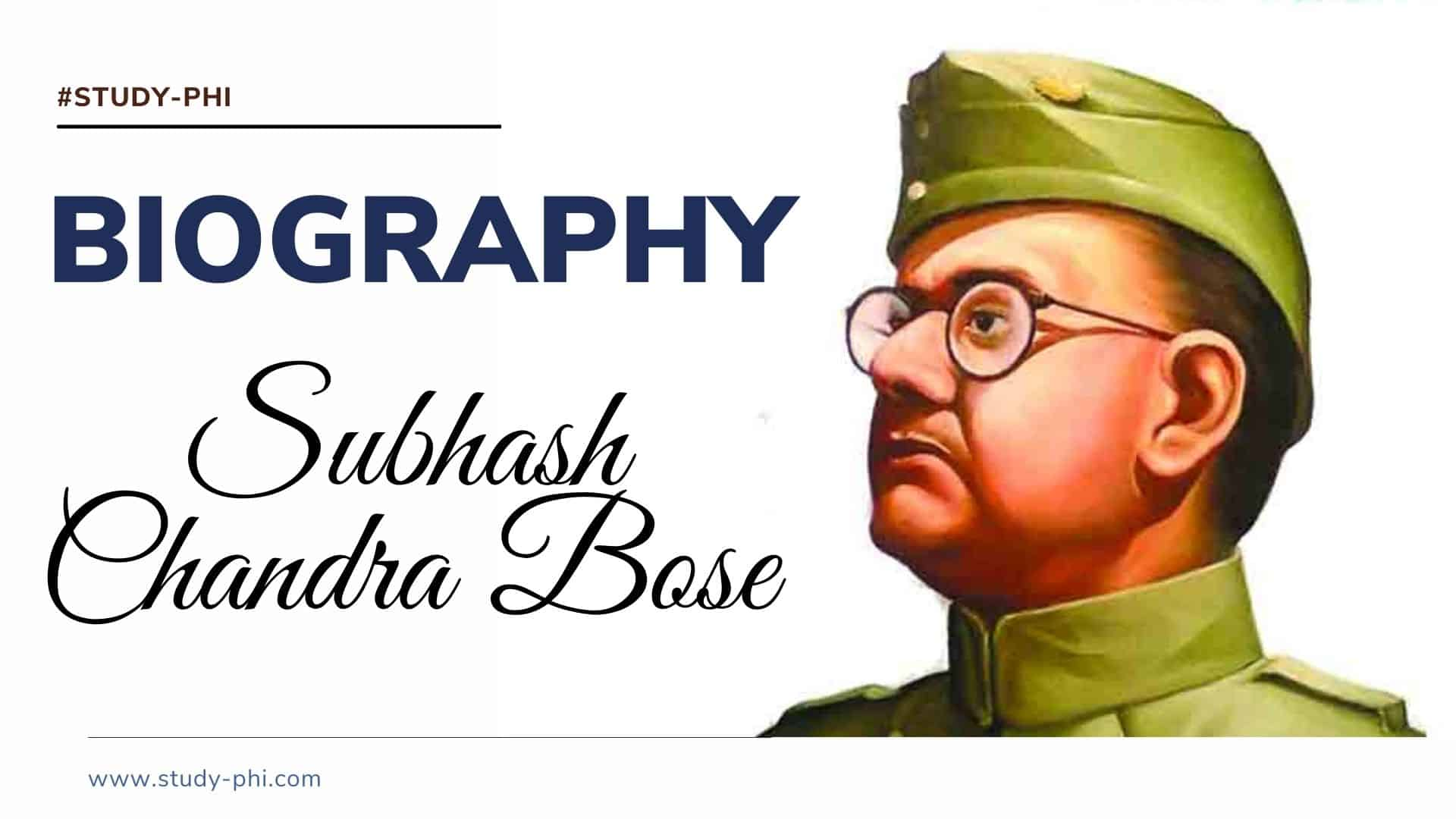 biography subhash chandra bose