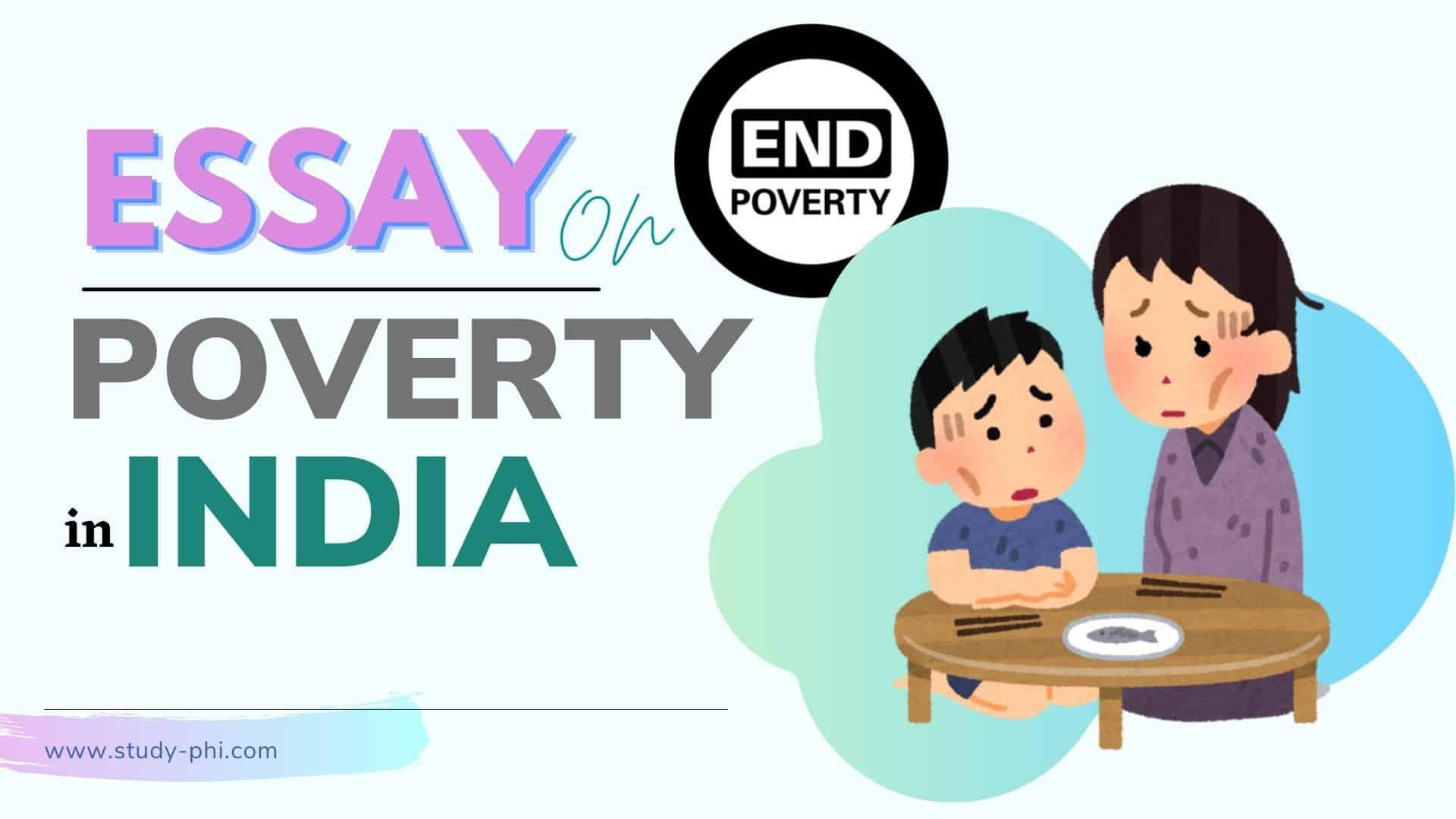 Essay on Poverty in India